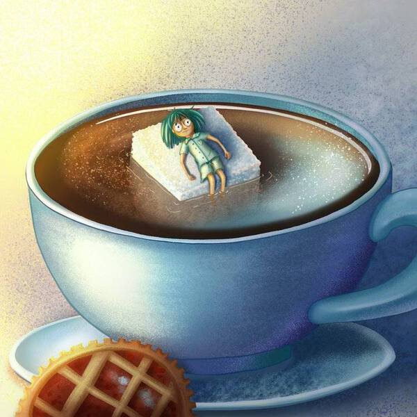 Drown in coffee