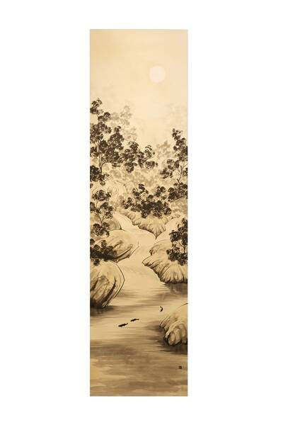 River flow / 清流図