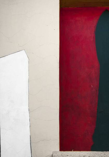 abstraction in red