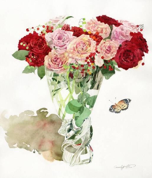 Glass Bouquet Fista