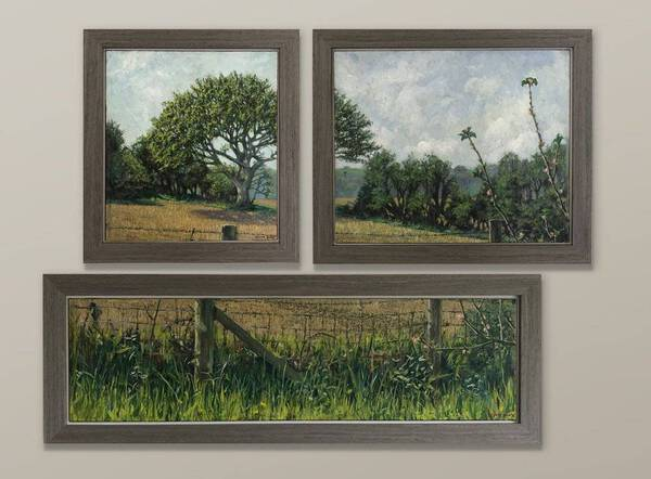 Spring view at West Acre' part 1, 2 & 3