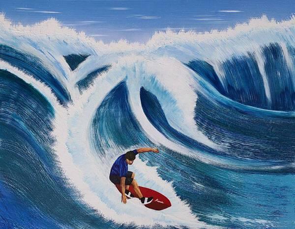 cut through wave