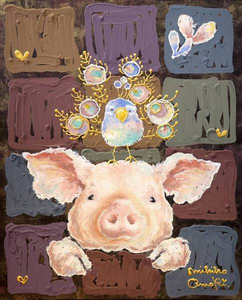 Pigs and peacocks