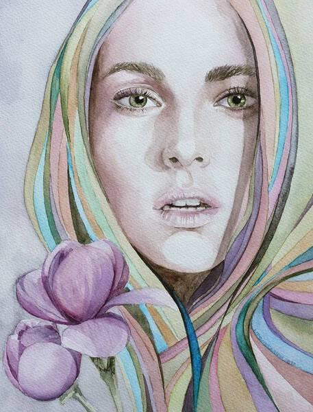 Camilla with magnolia 127