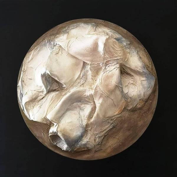 Luna monocromo