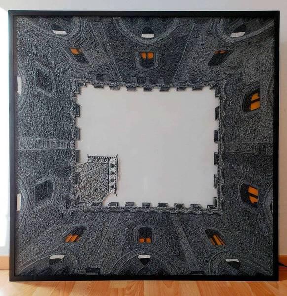 Palazzo Ducale - lightbox (light turn off) 2020