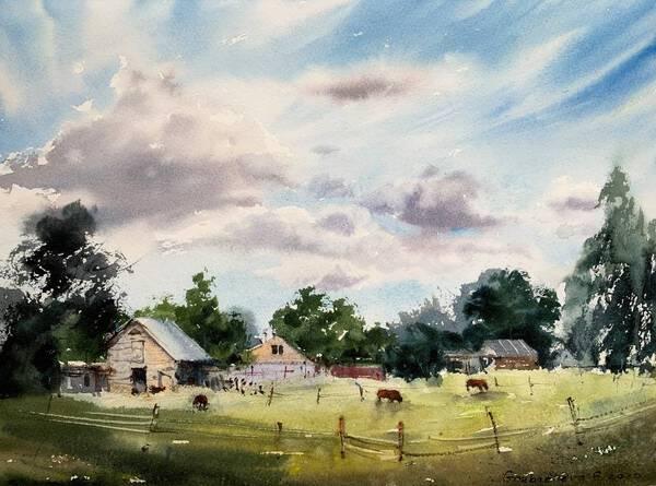 Morning on the Farm #2