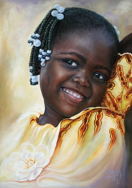 African Girl 84