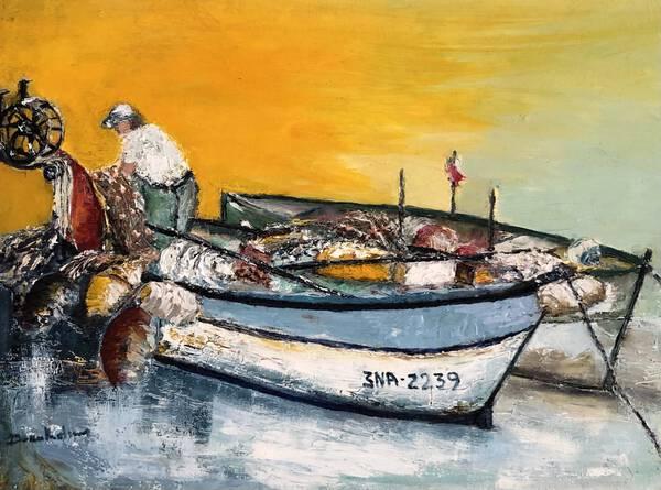 Italian fisher man