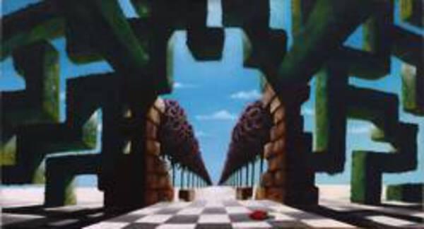 Labyrinth Shade