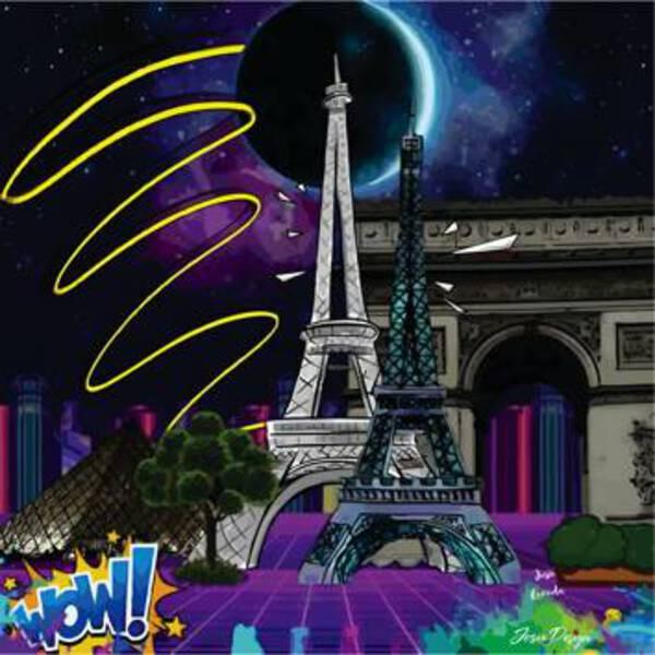 Paris in Neon