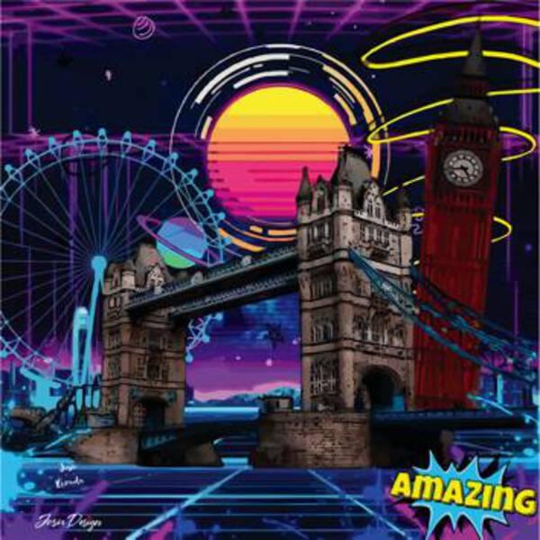 London in Neon