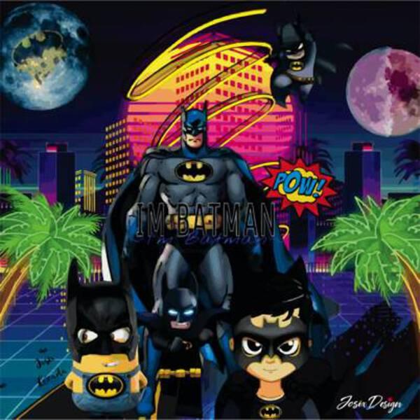 The five Batmans
