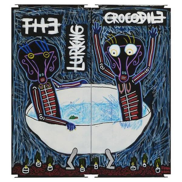 THE LURKING CROCODILE