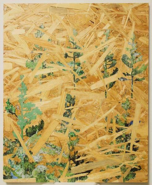 OSBの木々/ OSB woods <Red pine 1>