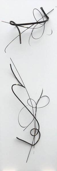 Sumie Relief Sculpture 9