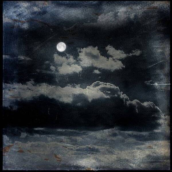 Full Moon and Cloud | Untitled Memories