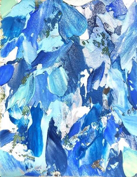 dominant color (blue)