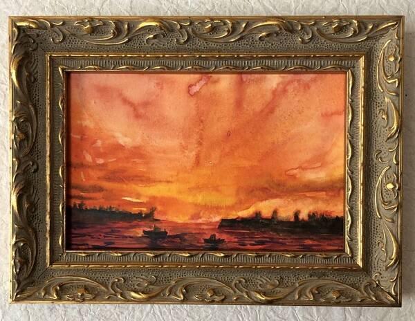 orange-2 Sea in Orange