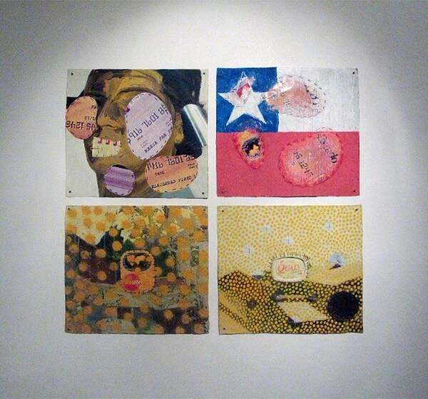 infected paintings, polipthique
