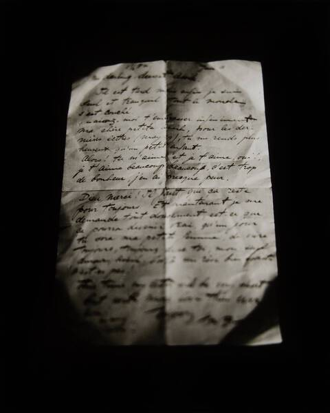love letter written june.11,1:30pm year unknown