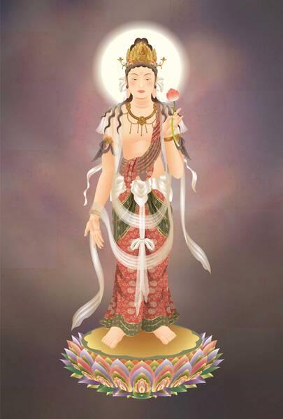 Holy Kanze Bodhisattva