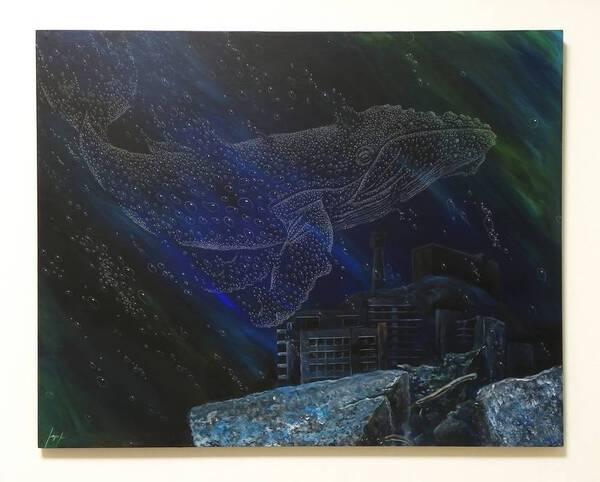 Foam whale
