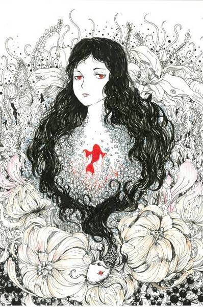 Witch of flowers