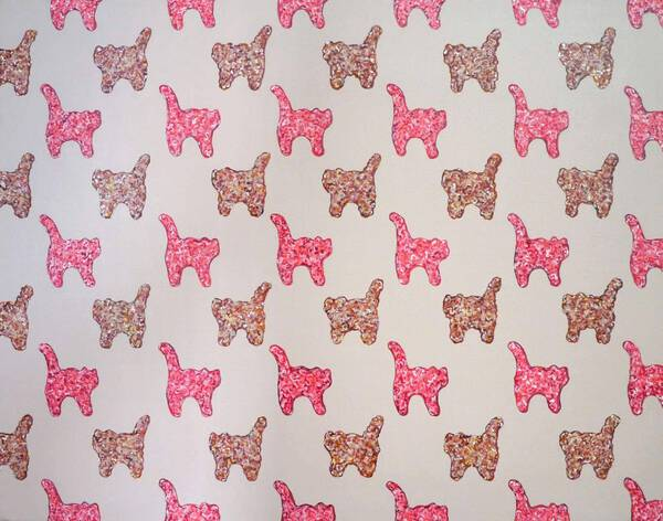 Mystery Meat (Cat: Color of the Year for 2016/PANTONE 13-1520 Rose Quartz)