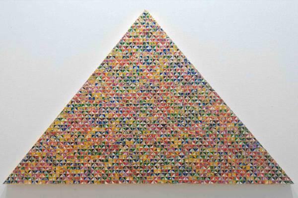World Automatic rainbow pyramid /Combined pyramid gold grid