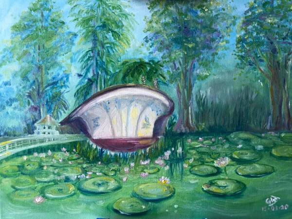 Singapore Botanical Gardens in Spring