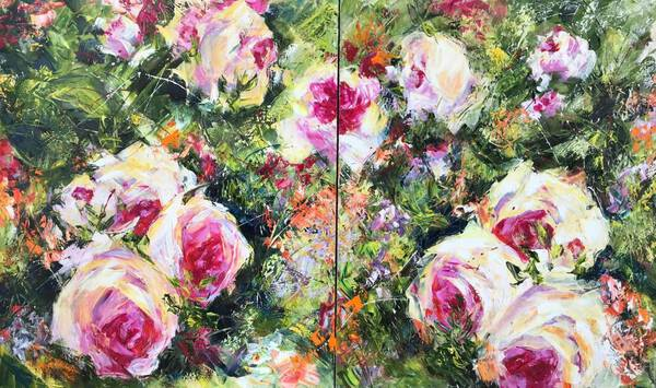 Roses. Diptych