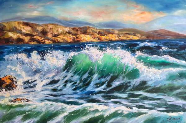 The Sea. Cyprus