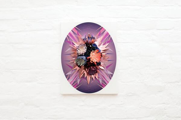 Purple Fire Pheonix, Plate #2