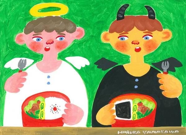 angelic and demonic meal