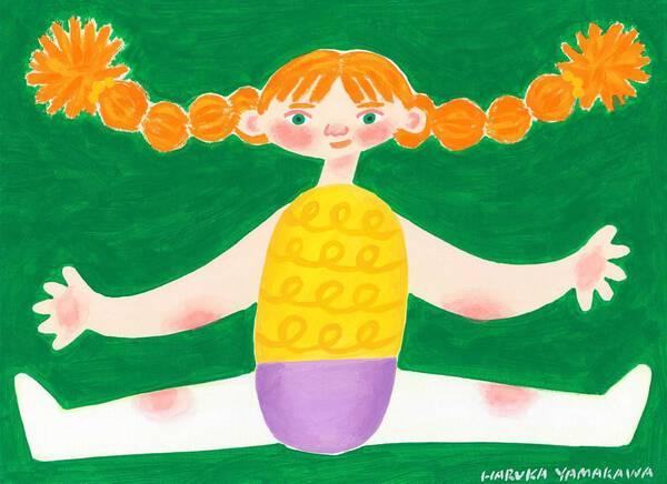 Wool doll girl