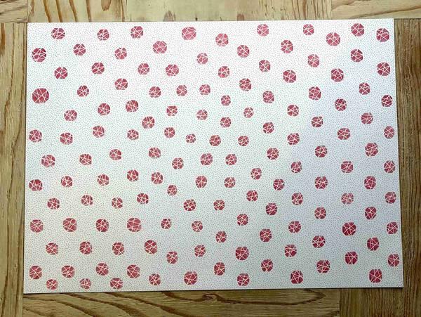 Geometric pattern (Red)