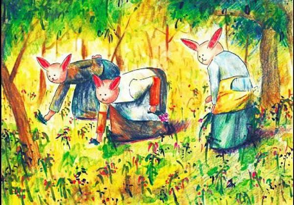 Rabbit's Gleaning.