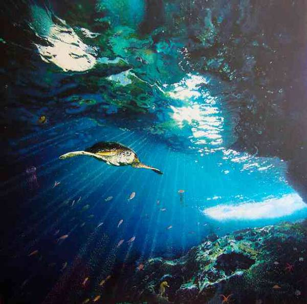 'Eclipses under the sea''