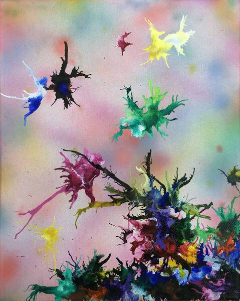 wings of a flower