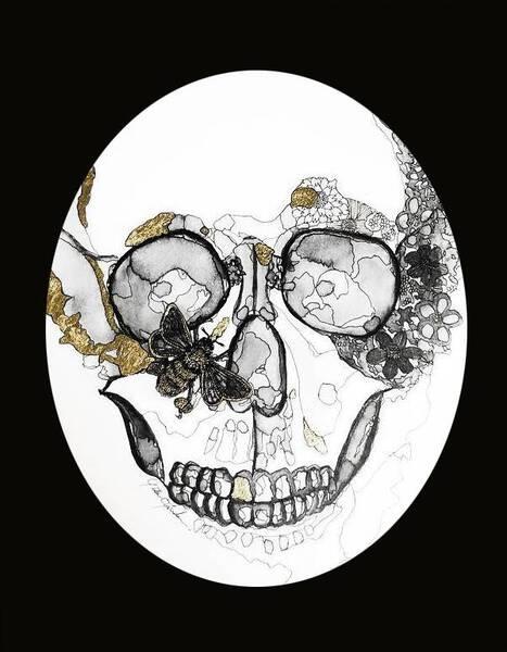 Bee on the Skull