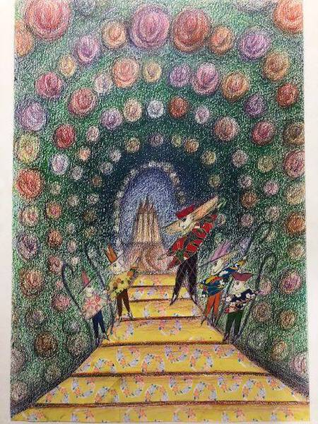 Entrance to the Land of the Roses