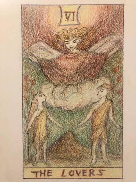 Tarot Card Vol.6 Lover