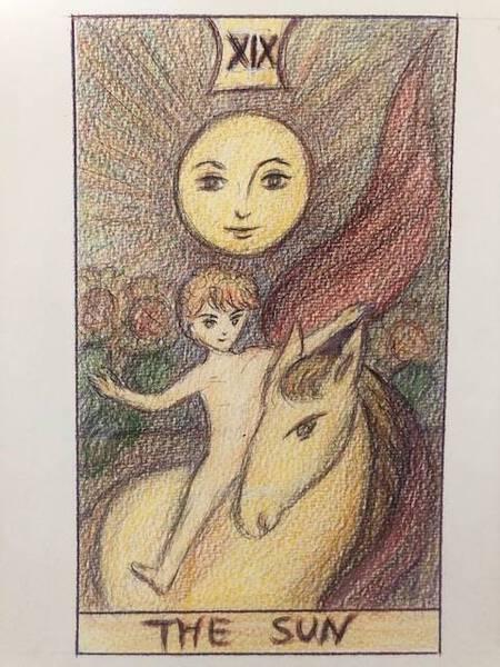 Tarot Cards Vol.19 The Sun