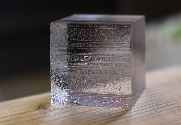specimen of light / cube #1