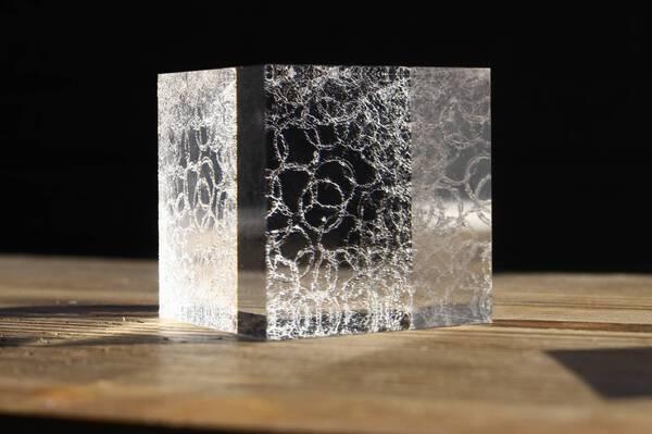 specimen of light /cube #3