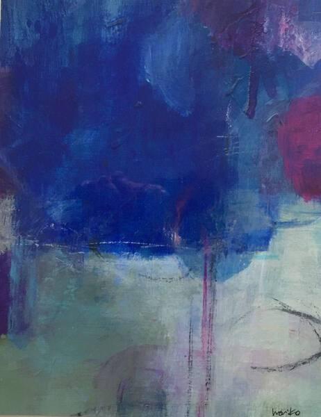 a piece of memory blue