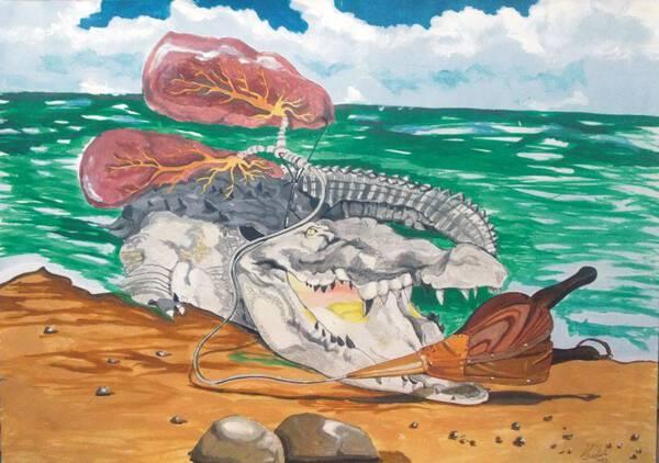 Crocodile Emphisemma