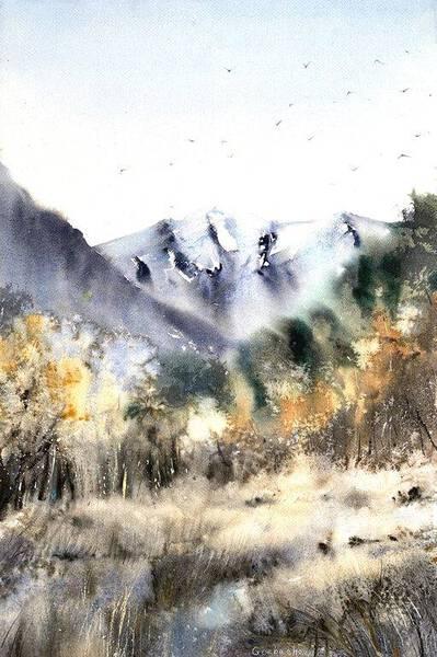 Nordic mountainscape #2