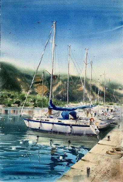 Yacht, Montenegro